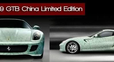 FERRARI 599 GTB China Limited Edition