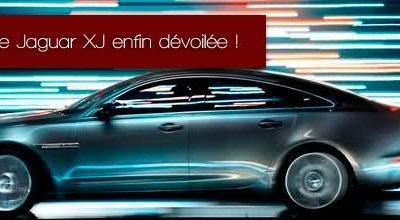 La nouvelle Jaguar XJ enfin dévoilée !