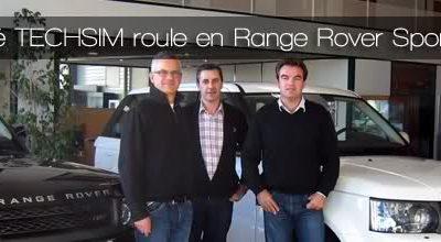 La Société TECHSIM prend livraison de deux nouveaux Range Rover Sport TDV6 HSE 3.0.