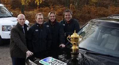 Land Rover partenaire des deux prochaines Coupe du monde de Rugby en 2011 et 2015