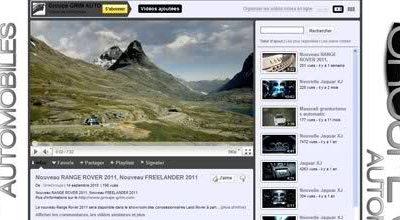 NOUVEAU RANGE ROVER 2011 ET FREELANDER 2011: LA VIDEO