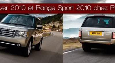 Range Rover 2010 et Range Sport 2010 chez Prestige !