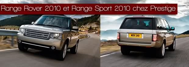 range rover 2010 et range sport 2010 chez prestige jaguar montpellier land rover. Black Bedroom Furniture Sets. Home Design Ideas