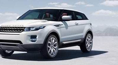 Range Rover Evoque: la première photo officielle