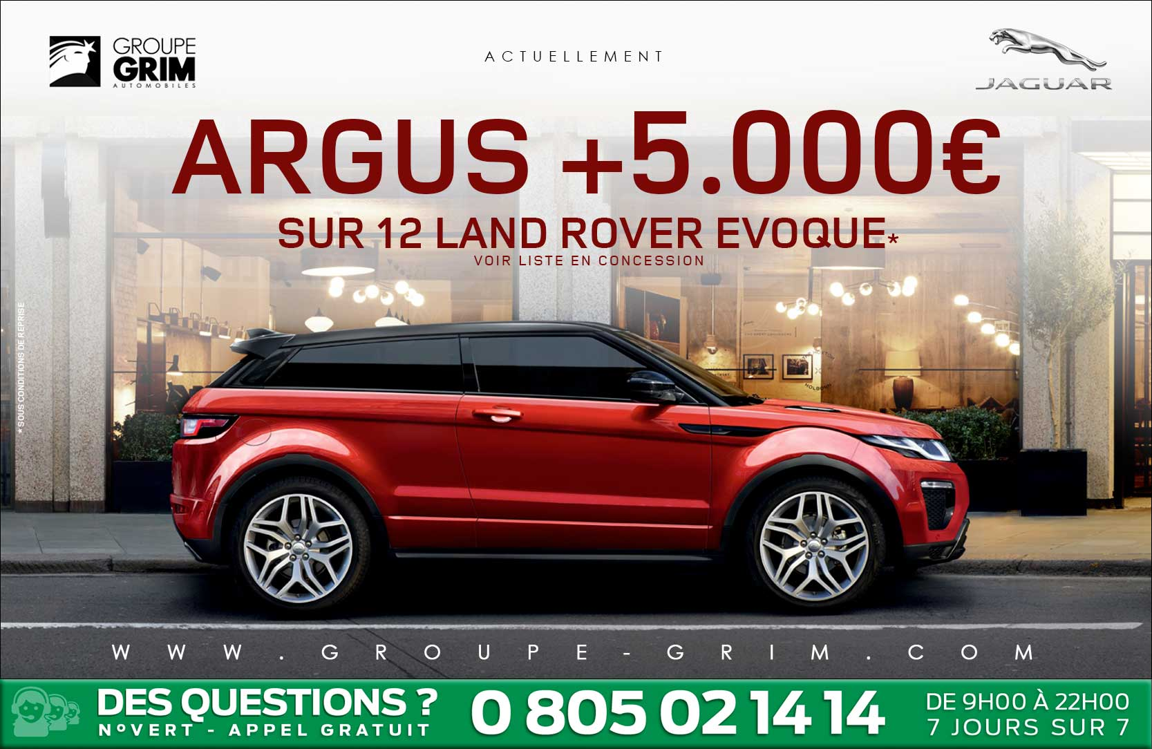 land rover evoque argus jaguar montpellier land rover montpellier land rover. Black Bedroom Furniture Sets. Home Design Ideas