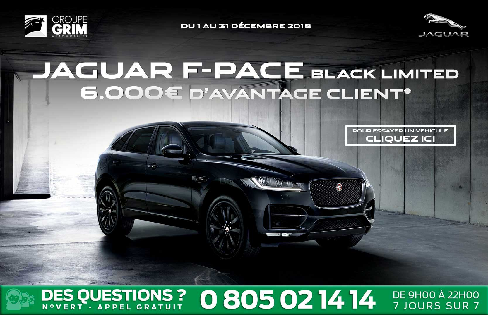 JAGUAR F-PACE BLACK LIMITED