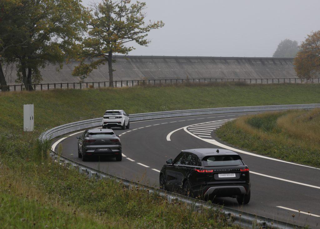 gamme Jaguar Land Rover