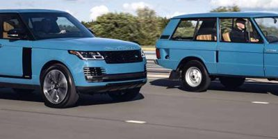 RANGE ROVER FIFTY : 50 ANS D'INNOVATION DE POINTE