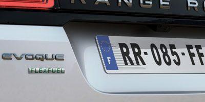 Véhicule flexfuel Land Rover disponible sur les motorisation P200