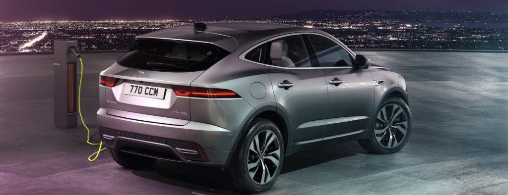 nouvelle jaguar E-PACE plugin hybride