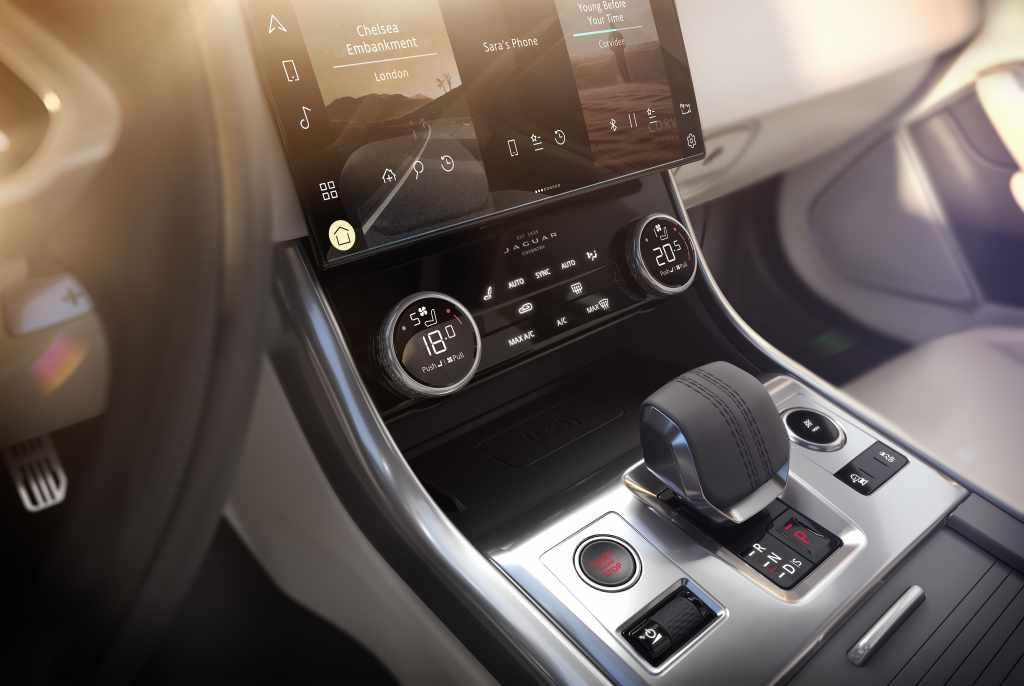 Nouvelle Jaguar XF