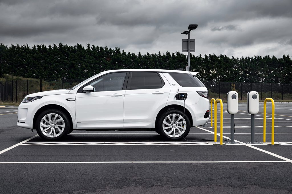 discovery sport hybride rechargeable