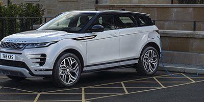 Présentation du nouveau Range Rover Evoque hybride rechargeable P300e