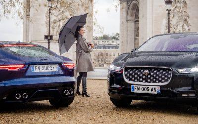 L'icône d'élégance Iris Mittenaere, ambassadrice de la marque Jaguar en 2021