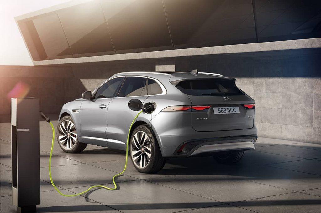 Jaguar F-Pace hybride rechargeable