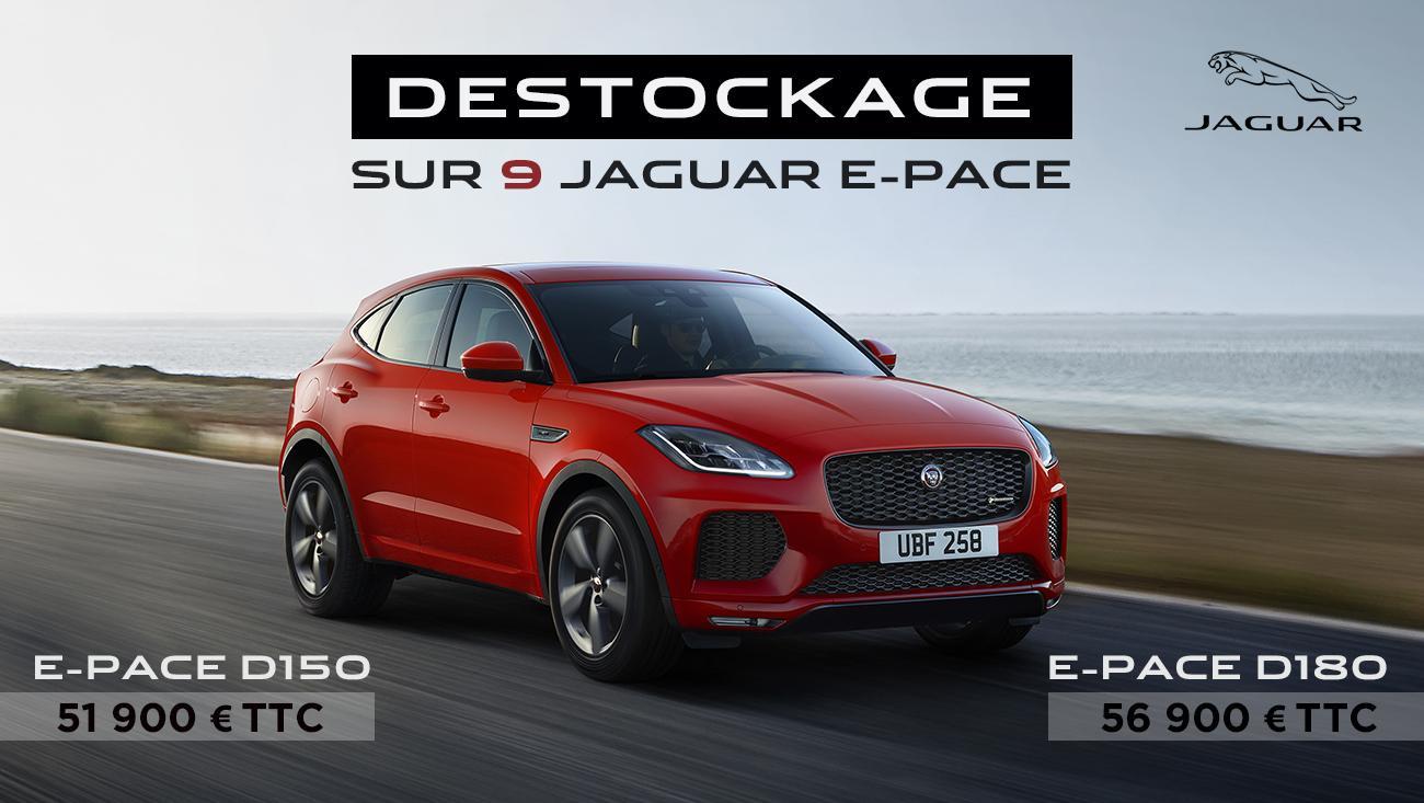 destockage jaguar e pace
