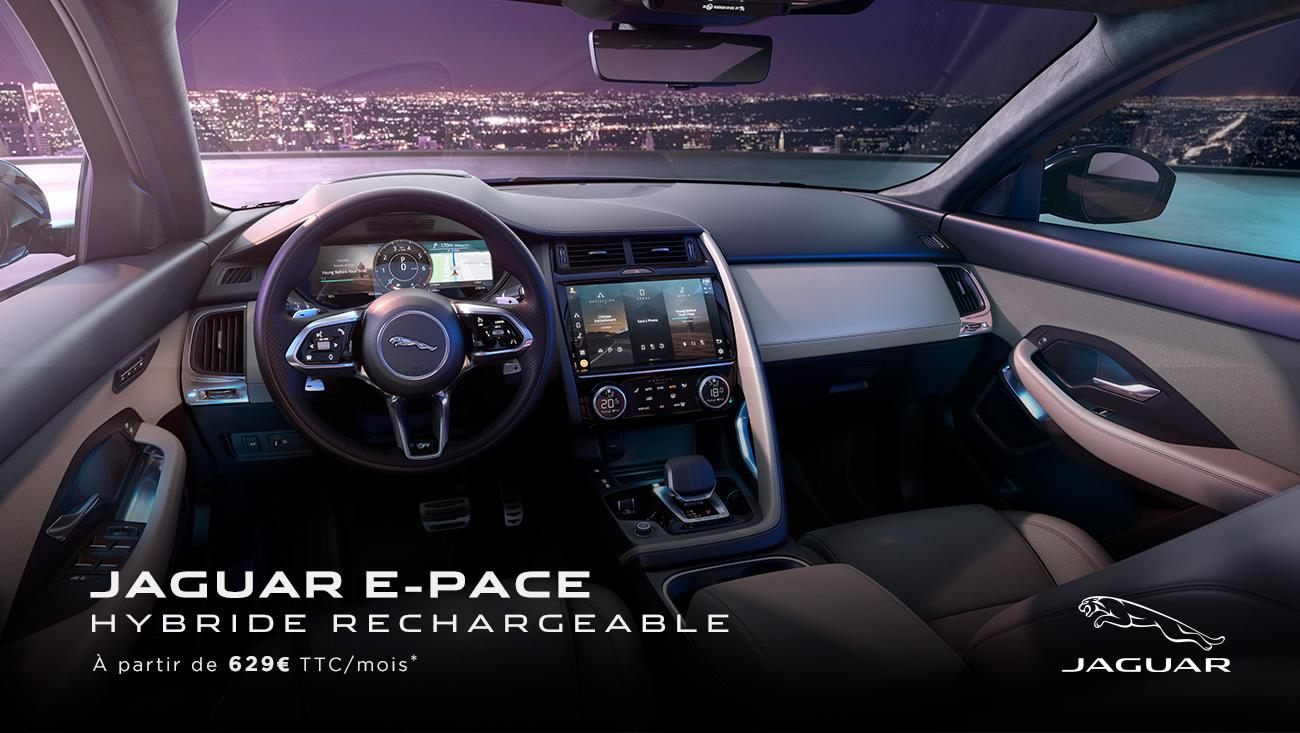 jaguar e pace hybride rechargeable