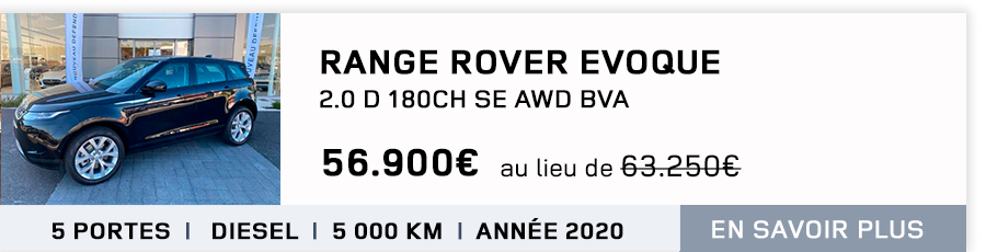 range rover evoque nimes