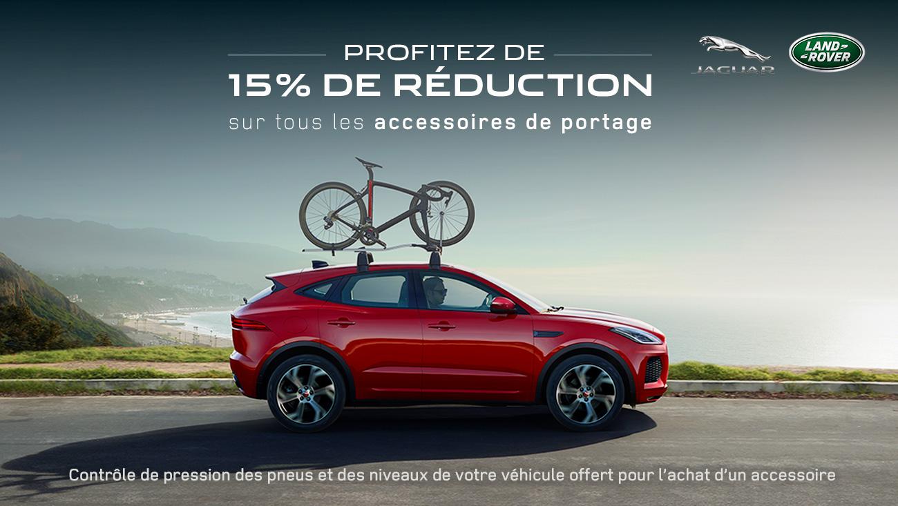 offre accessoires portage jaguar land rover