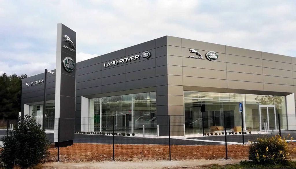 Présentation de la concession Jaguar Land Rover à Nîmes
