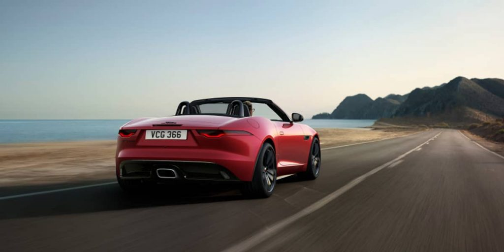 jaguar f type r dynamic black 2021