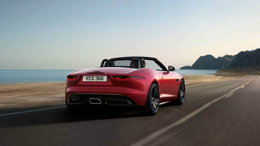 Jaguar F-Type R-Dynamic Black (2021) : une version très exclusive