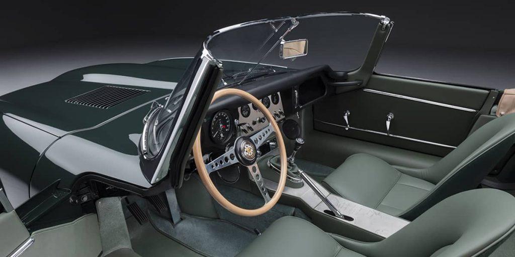 interieur jaguar type e 2021