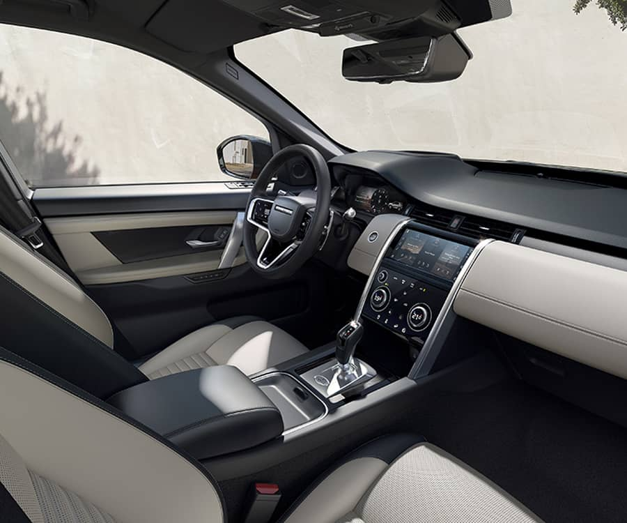 interieur discovery sport phev