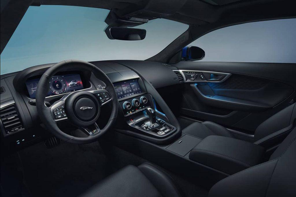 interieur jaguar f type