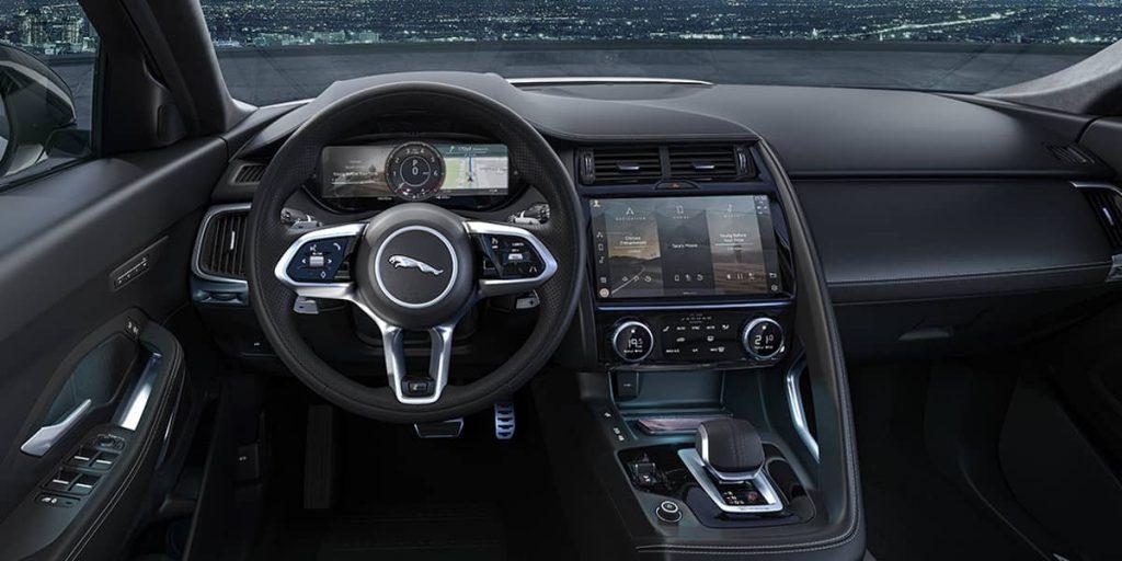 interieur Jaguar E-Pace hybride rechargeable