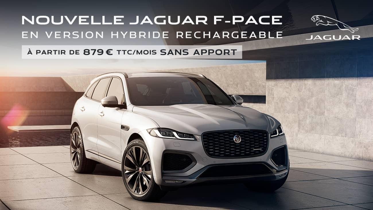 nouvelle jaguar f pace offre