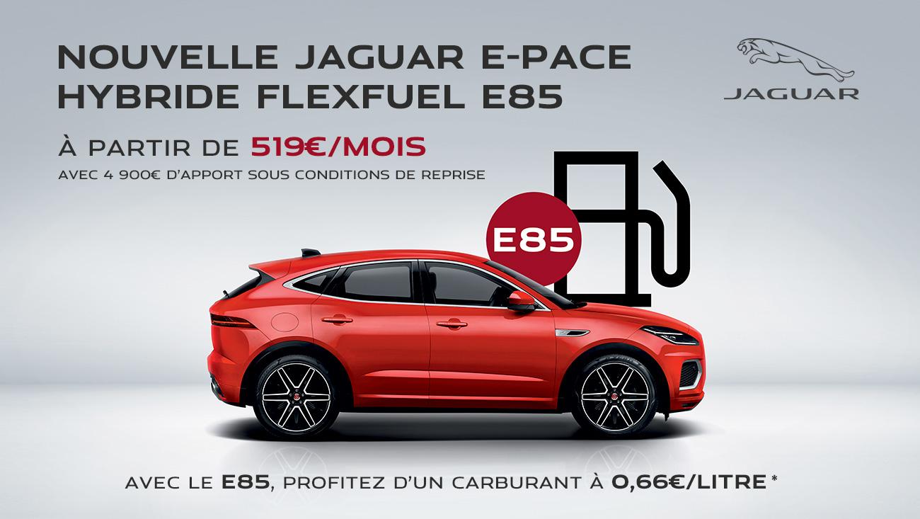 jaguar e pace flexfuel offre