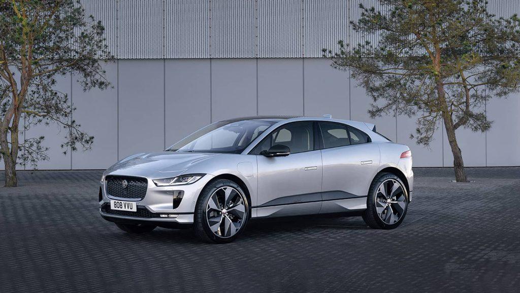 COP26 : Jaguar Land Rover met à disposition une flotte de véhicules 100% électriques