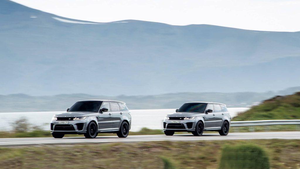 Le Range Rover Sport SVR à la poursuite de James Bond