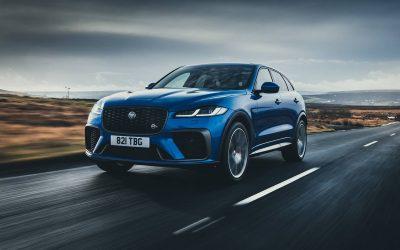Nouvelle Jaguar F-Pace SVR : au sommet de la performance (2021)