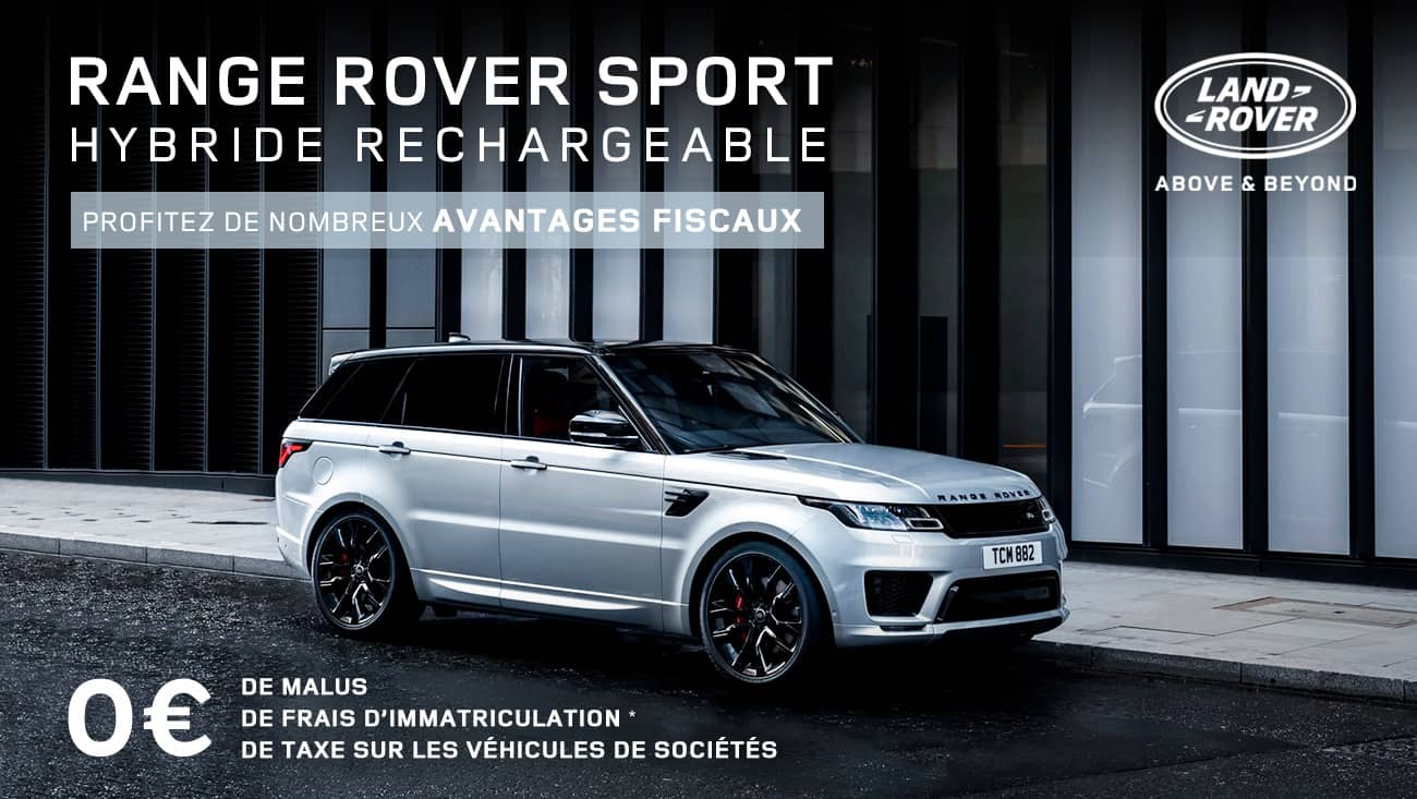 offre range rover sport hybride rechargeable