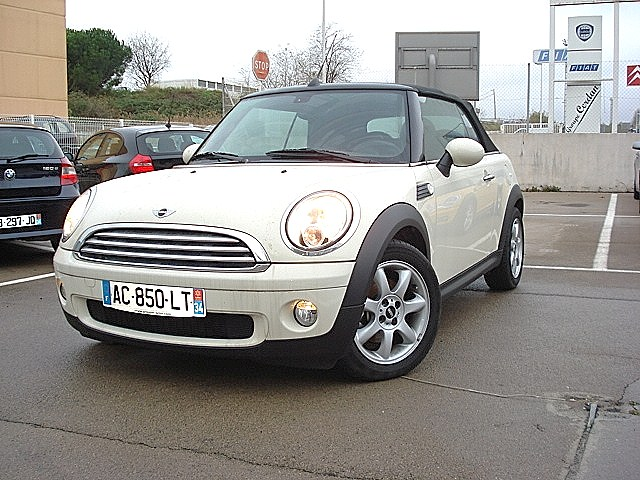mini cooper cabriolet pack chili 1 6 115 cv mini montpellier grim passion. Black Bedroom Furniture Sets. Home Design Ideas