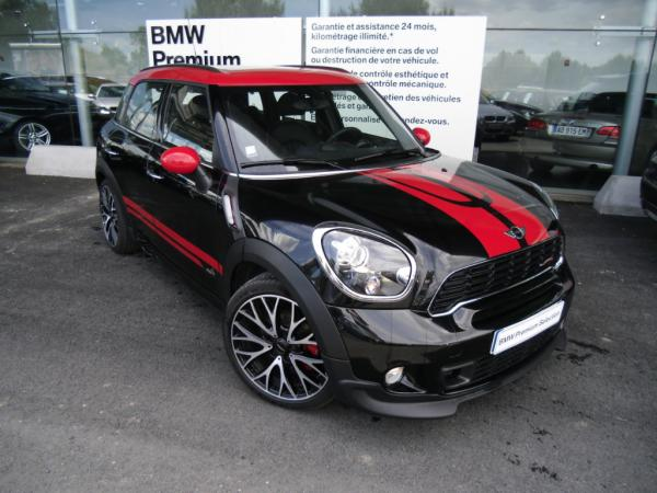 mini countryman john cooper works occasion. Black Bedroom Furniture Sets. Home Design Ideas