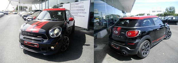 mini paceman john cooper works all4 occasion 1 groupe grim mini. Black Bedroom Furniture Sets. Home Design Ideas