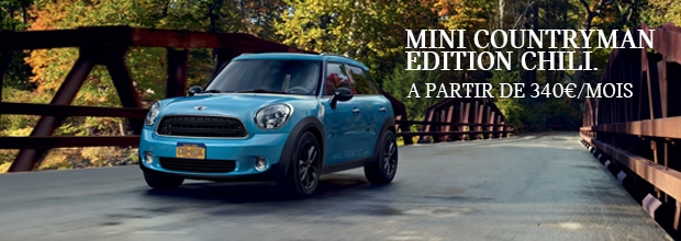 mini countryman edition chili a partir de 340 mois mini montpellier grim passion. Black Bedroom Furniture Sets. Home Design Ideas