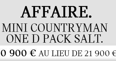 AFFAIRE : MINI COUNTRYMAN 20 900€