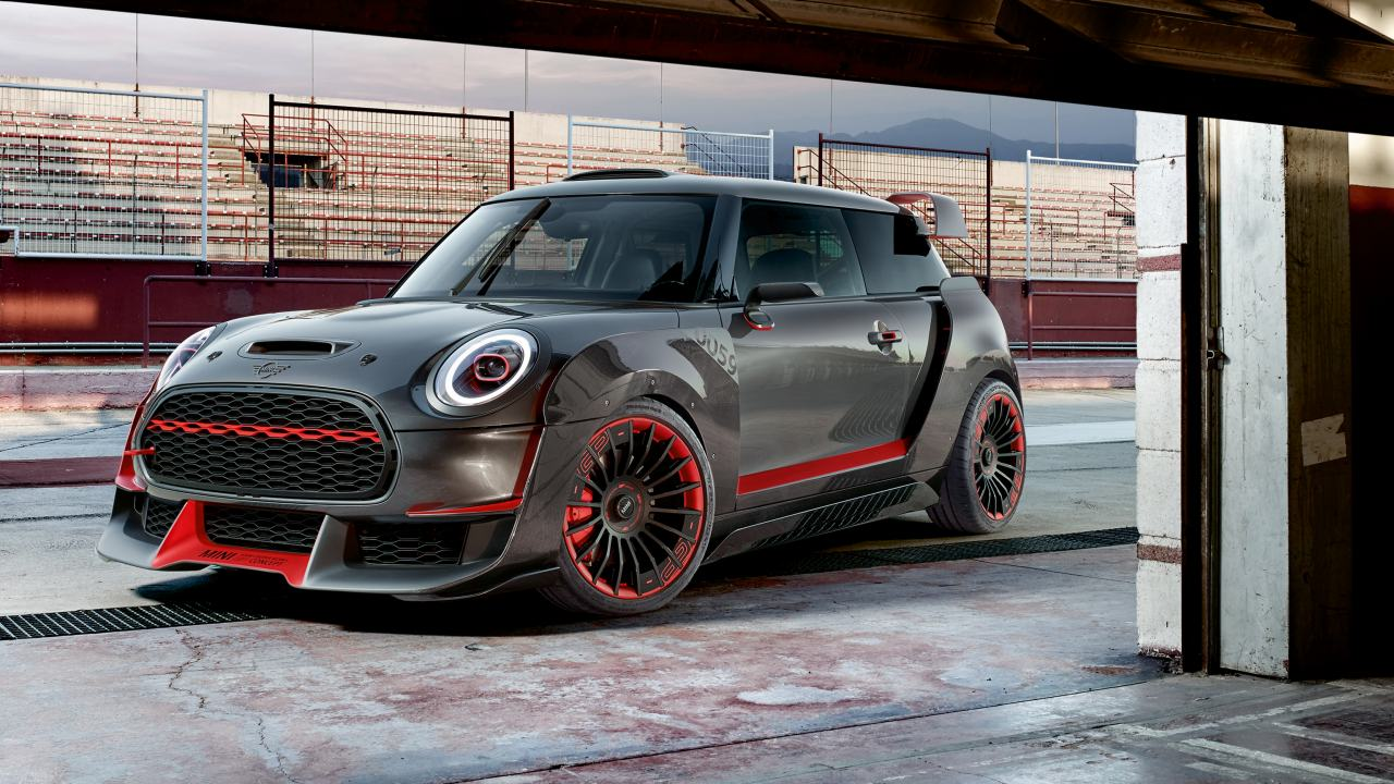 mini john cooper works gp concept mini montpellier grim passion. Black Bedroom Furniture Sets. Home Design Ideas