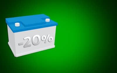 OPÉRATION BATTERIE -20%