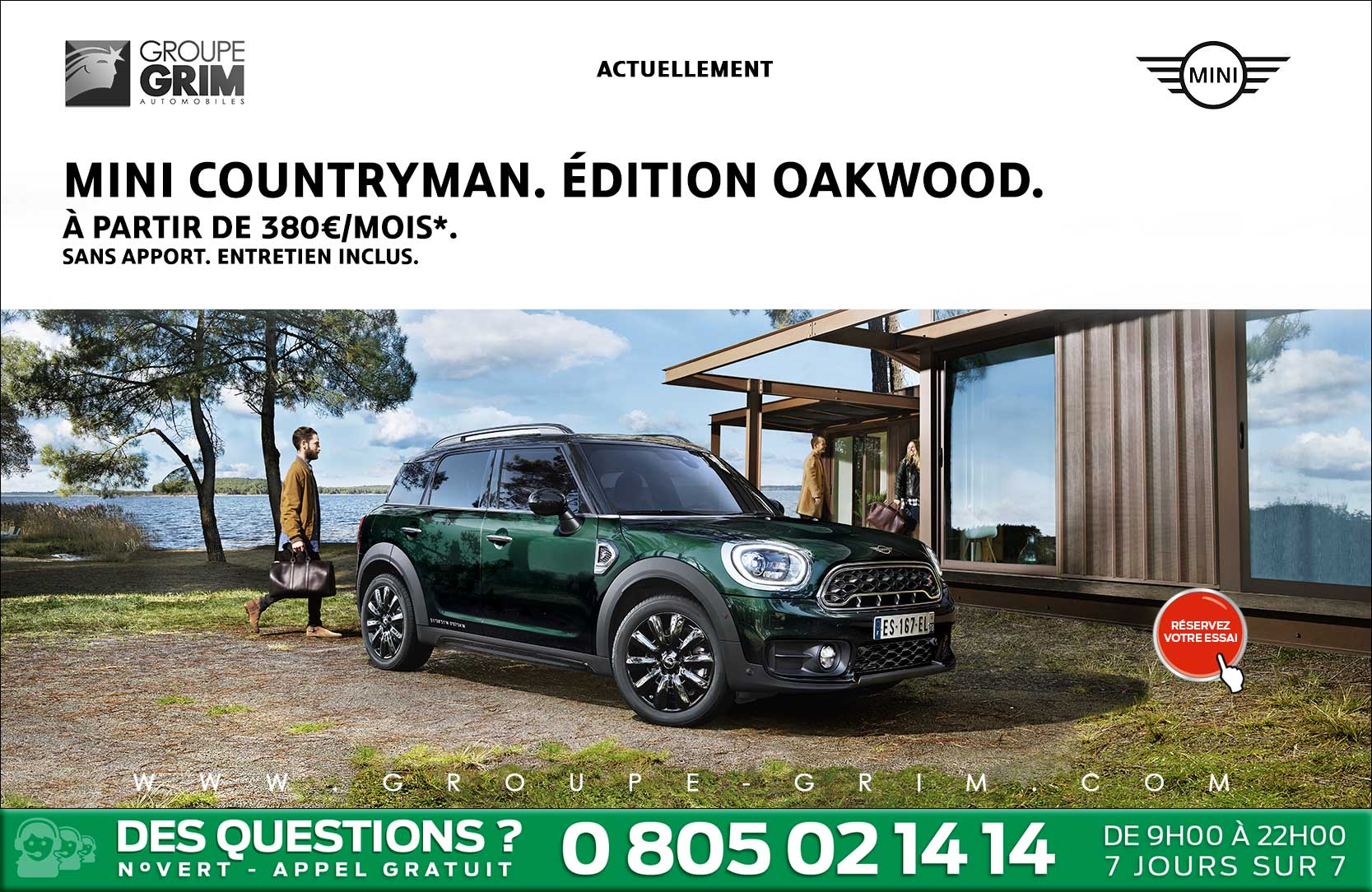 mini countryman dition oakwood mini montpellier mini valence mini mont limar. Black Bedroom Furniture Sets. Home Design Ideas