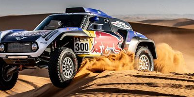 MINI prêt pour le Dakar 2019.