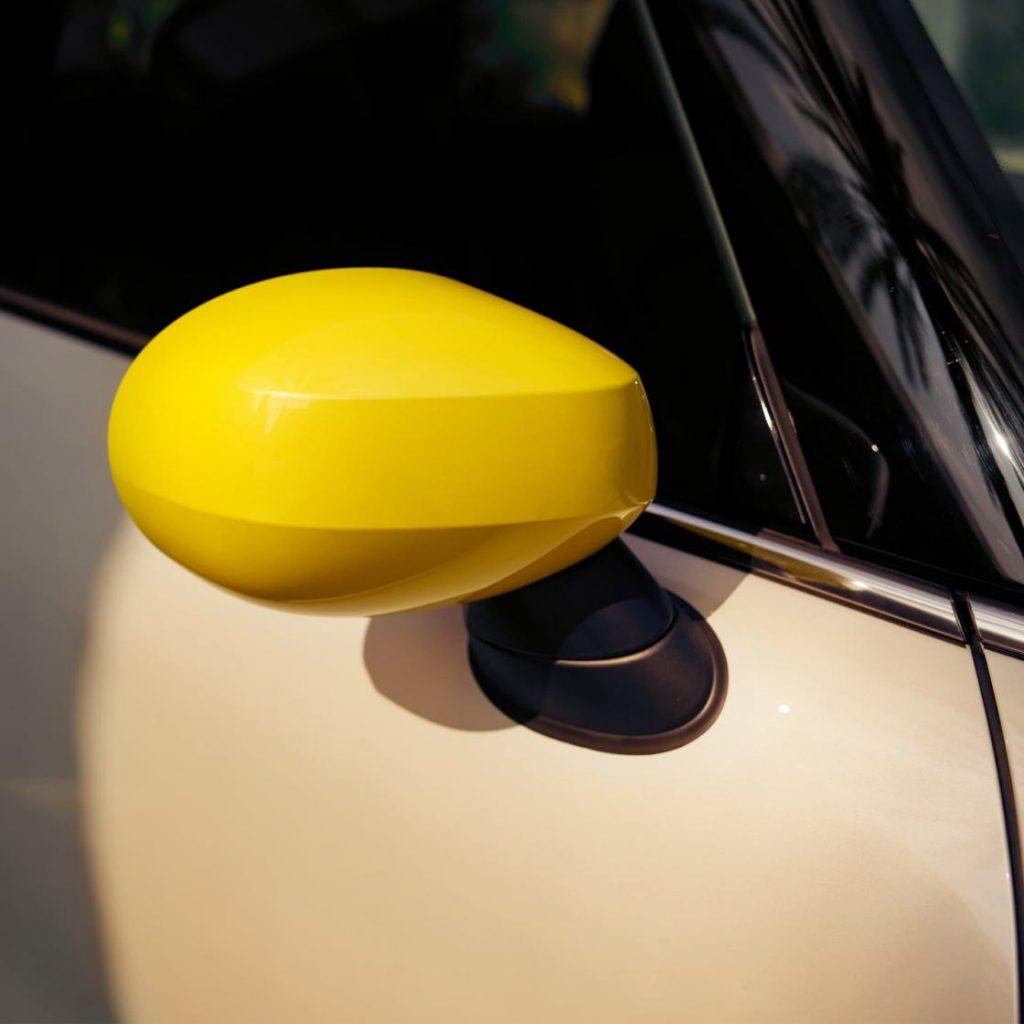 MINI électrique rétroviseur jaune
